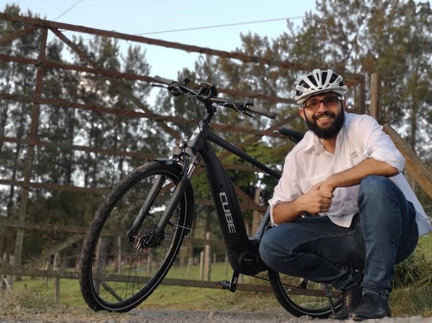 Bici eléctrica Cube.