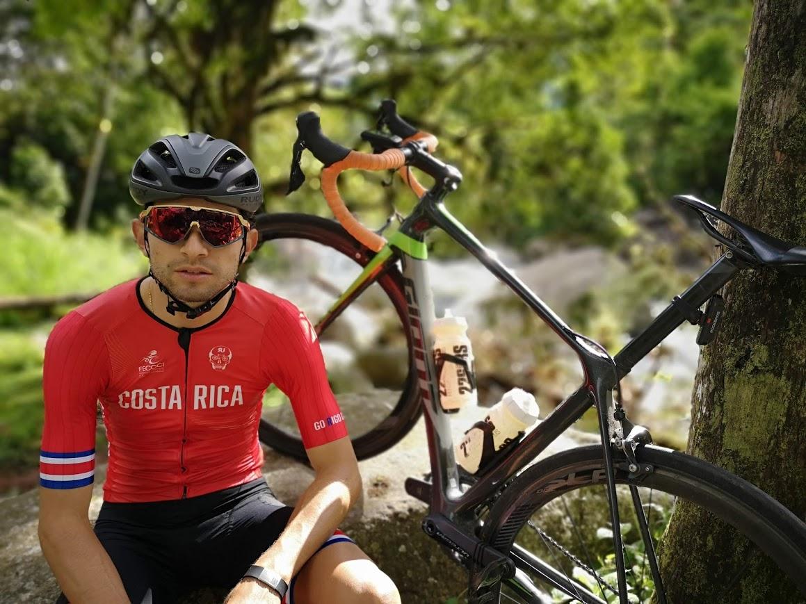 Daniel Bonilla Quirós, ganador de la Vuelta a Costa Rica 2019